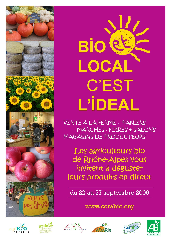 Bio et local,  c'est idéal ! 2009